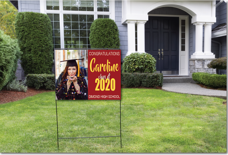 Graduation Sign & Banners